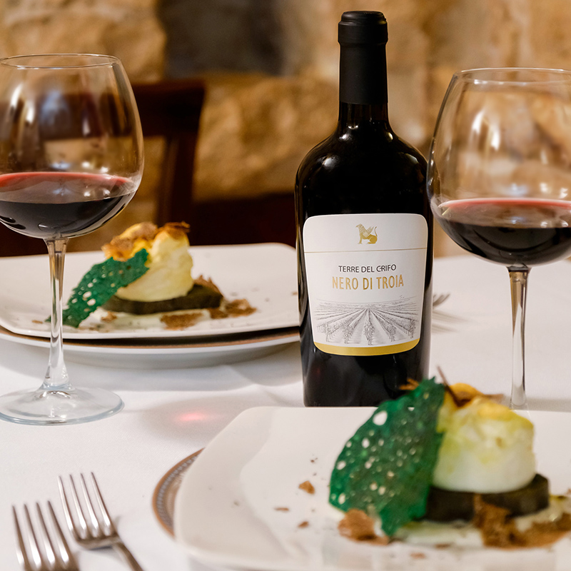 "CRIFO WINE EXPERIENCE: DISCOVER THE TASTING MENU RECOMMENDED BY DINO SAULLE AT ""UPEPIDDE"""